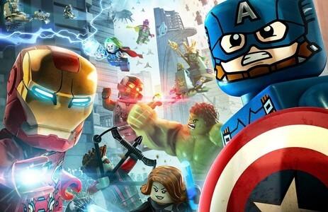 El Gran Sitio de los Vengadores de Marvel. Lego de los vengadores