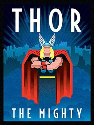 Lienzo para Decoracion Retro Comic Thor