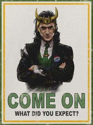 La Gran Tienda de Loki La Serie Poster Serie Loki 3