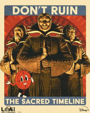 La Gran Tienda de Loki La Serie Poster Serie Loki 7