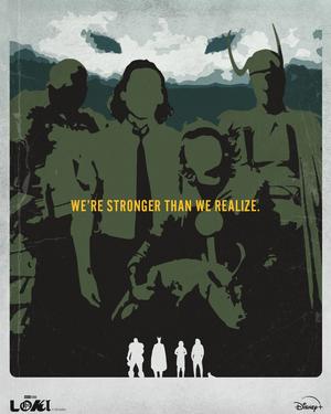 Poster Serie Loki 9