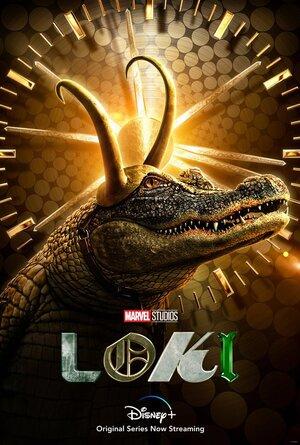 Poster serie Loki de Personaje Alligator Loki