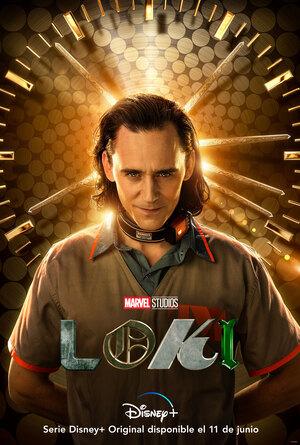 La Gran Tienda de Loki La Serie Poster serie Loki de Personaje Loki
