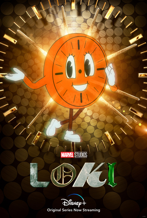 La Gran Tienda de Loki La Serie Poster serie Loki de Personaje Miss Minutes