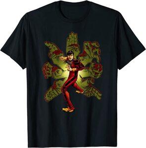 Camiseta Shang Chi Clásico Manos de Kung Fu