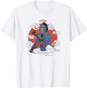 Camiseta Shang Chi y la Leyenda de los diez anillos Death Dealer Dibujo Chino Tradicional