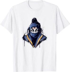 Camiseta Shang Chi y la Leyenda de los diez anillos Death Dealer Ninja Enmascarado