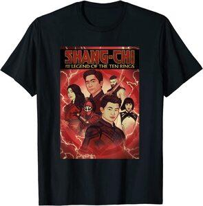Camiseta Shang Chi y la Leyenda de los diez anillos Estilo Portada Comic