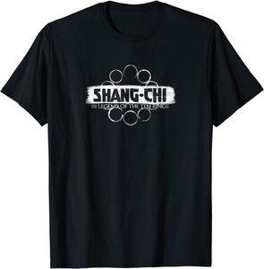 Camiseta Shang Chi y la Leyenda de los diez anillos Logo Letras Blancas
