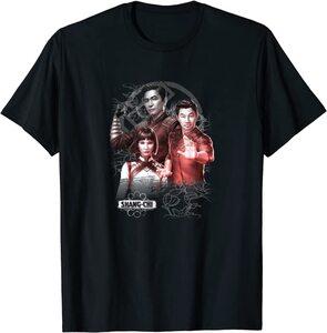 Camiseta Shang Chi y la Leyenda de los diez anillos Poster Familiar