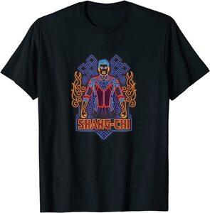 Camiseta Shang Chi y la Leyenda de los diez anillos Shang Chi Contorno Neon