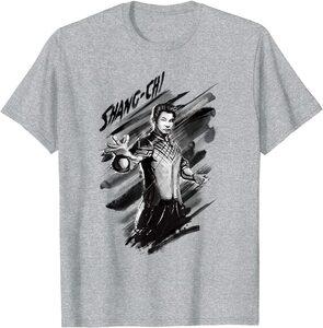 Camiseta Shang Chi y la Leyenda de los diez anillos Shang Chi Dibujo a Pinceladas