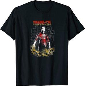Camiseta Shang Chi y la Leyenda de los diez anillos Shang Chi Poster Difuminado