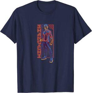 Camiseta Shang Chi y la Leyenda de los diez anillos Shang Chi Poster Neon