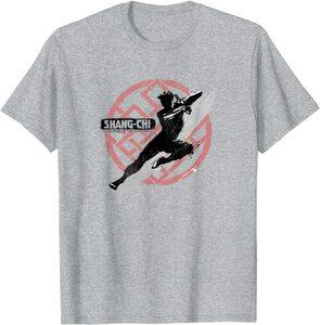 Camiseta Shang Chi y la Leyenda de los diez anillos Shang Chi Silueta en Acción