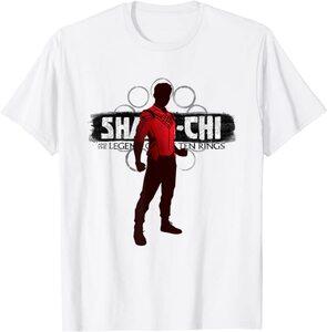 Camiseta Shang Chi y la Leyenda de los diez anillos Shang Chi Silueta