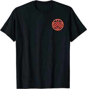 Camiseta Shang Chi y la Leyenda de los diez anillos Símbolo Fuego Pecho