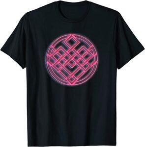 Camiseta Shang Chi y la Leyenda de los diez anillos Símbolo Neón