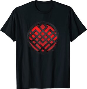 Camiseta Shang Chi y la Leyenda de los diez anillos Símbolo Rojo