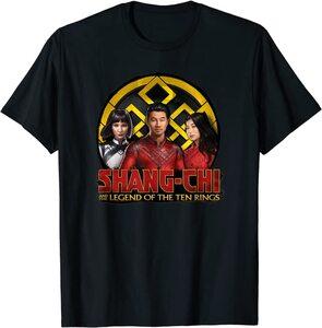 Camiseta Shang Chi y la Leyenda de los diez anillos Xialing Katy y Shang Chi