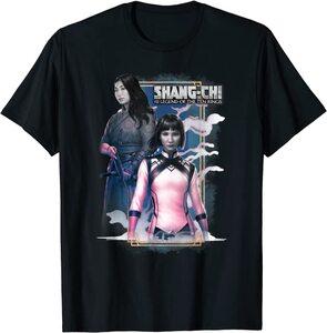 Camiseta Shang Chi y la Leyenda de los diez anillos Xialing y Katy