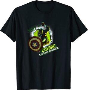 Camiseta What If Capitan America Zombie Poster