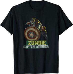 Camiseta What If Capitan America Zombie