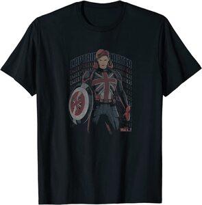 Camiseta What If Capitana Carter Dibujo Difuminado