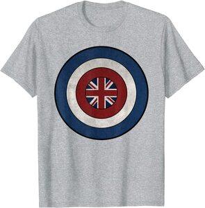 Camiseta What If Capitana Carter Escudo
