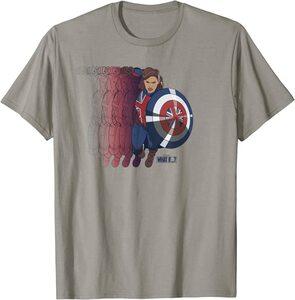 Camiseta What If Capitana Carter Poster Superpuesto