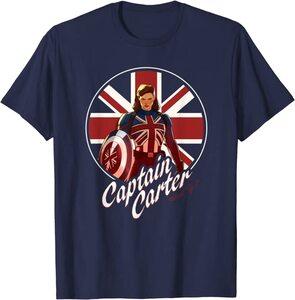 Camiseta What If Capitana Carter Super Hero