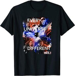Camiseta What If Cita Cada Universo es Diferente