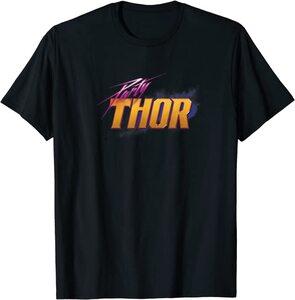 Camiseta What If Party Thor Logo