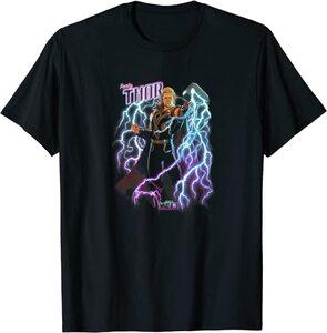Camiseta What If Party Thor Mjolnir Rayo