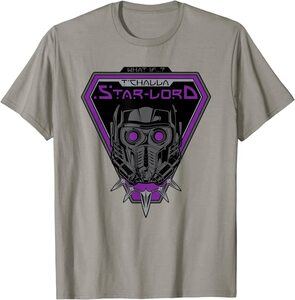 Camiseta What If T'Challa Star Lord Casco