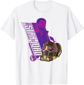Camiseta What If T'Challa Star Lord con Casco