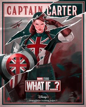 Poster de What if... Que hubiera pasado si... Capitana Carter