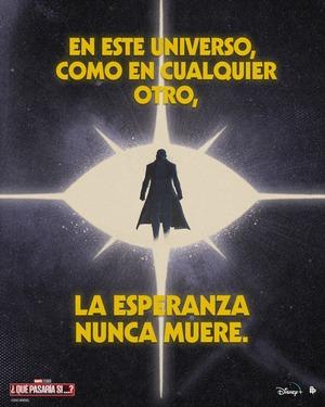 Poster de What if... Que hubiera pasado si... Capítulo 3 Nick Fury Inicativa Vengadores