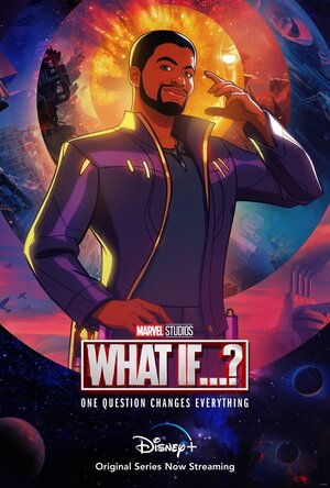 Poster de What if... Que hubiera pasado si... Personaje T'Challa Star Lord