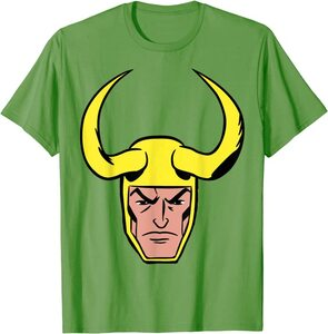 Camiseta Loki Comic Big Face