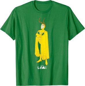 Camiseta Loki Variante Clasico Dibujo