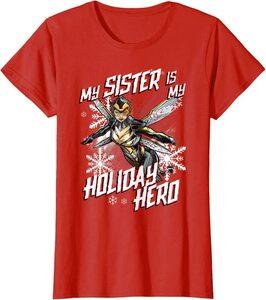 Camiseta Marvel Navidad Mi Hermana es mi Heroína