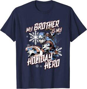 Camiseta Marvel Navidad Mi Hermano es mi Héroe