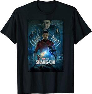 Camiseta Shang Chi y la Leyenda de los diez anillos Poster Película