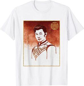 Camiseta Shang Chi y la Leyenda de los diez anillos Retrato de Shang Chi