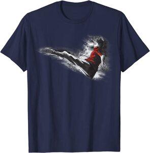 Camiseta Shang Chi y la Leyenda de los diez anillos Shang Chi Dibujo Patada de Kung Fu
