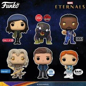 Ediciones Especiales de Funko Pop de la película Eternals