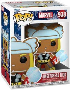 Funko Pop Edicion Especial Navidad 938 Thor Galleta de Jengibre