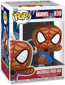 Funko Pop Edicion Especial Navidad 939 Spider-Man Galleta de Jengibre