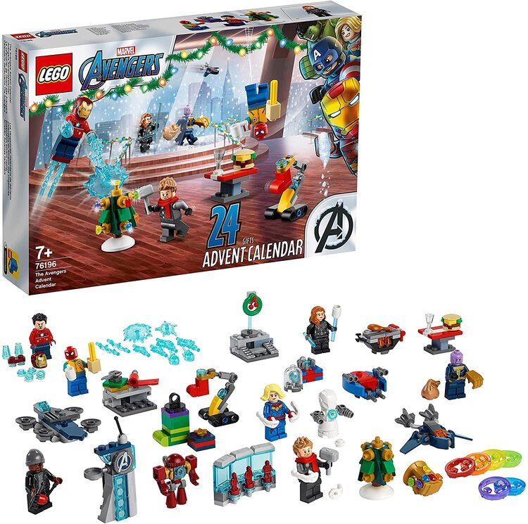 Lego Calendario de Adviento de Los Vengadores de Marvel de 2021